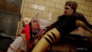 Росомаха долбит переодетую Клеопатру в ее щели (только на ыгоюкг)