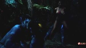 The amazing orgy between earthlings and aborigines from Pandora