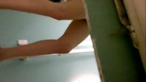 Заснял, как русская парочка трахается в туалете
