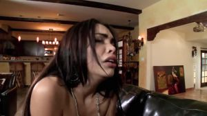 Spanked and fucked beautiful maid