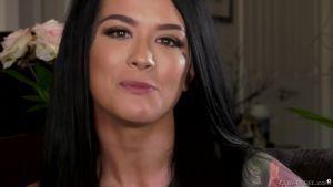 Рассказ Катрины Джейд о порно и сцена с двойным проникновением